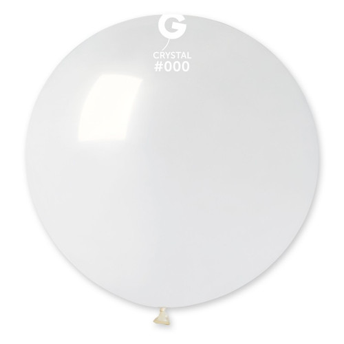 30in Latex Balloons Crystal Giant