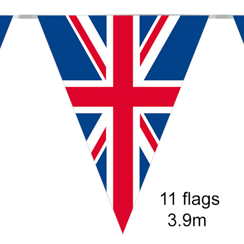 Bunting 11 Flags Union Jack 3.9m