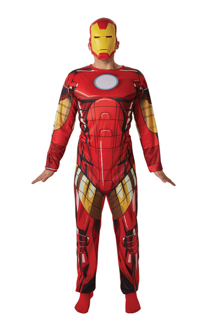 Iron Man Adult Standard Chest 38 to 42 Inch