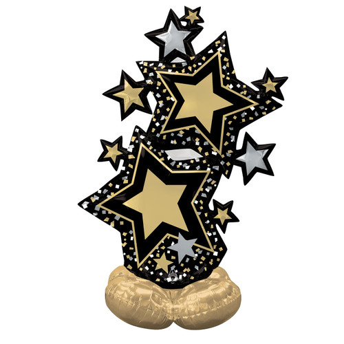 AirLoonz Star Cluster Black and Gold