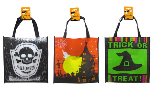 HALLOWEEN GOODY BAG LARGE 35 x 38 Cm WITCH HAT