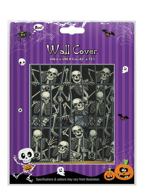 SKELETONS WALL COVER 106.6 x 182.8 Cm