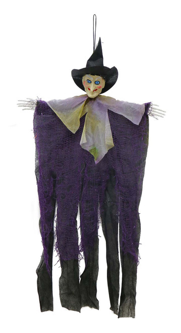 HANGING WITCH 60 Cm RED