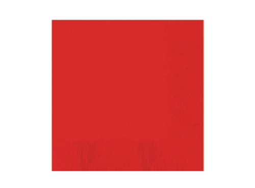 Luncheon Napkins Pk50 2Ply Red