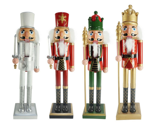NUTCRACKER 60cm PLASTIC Choose from 2 assorted styles