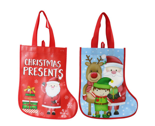 SHOPPER BAG STOCKING Choose from 2 assorted styles