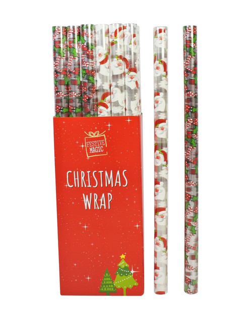 CELLO WRAP PRINTED 70cm x 5m  Choose from assorted styles