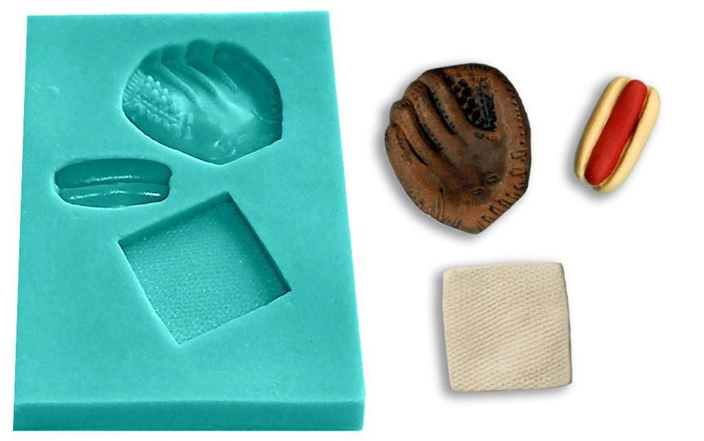 Mini Mold - Batter Up Lefty