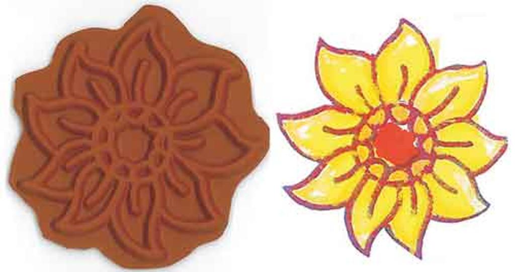 Sunflower Stamplate