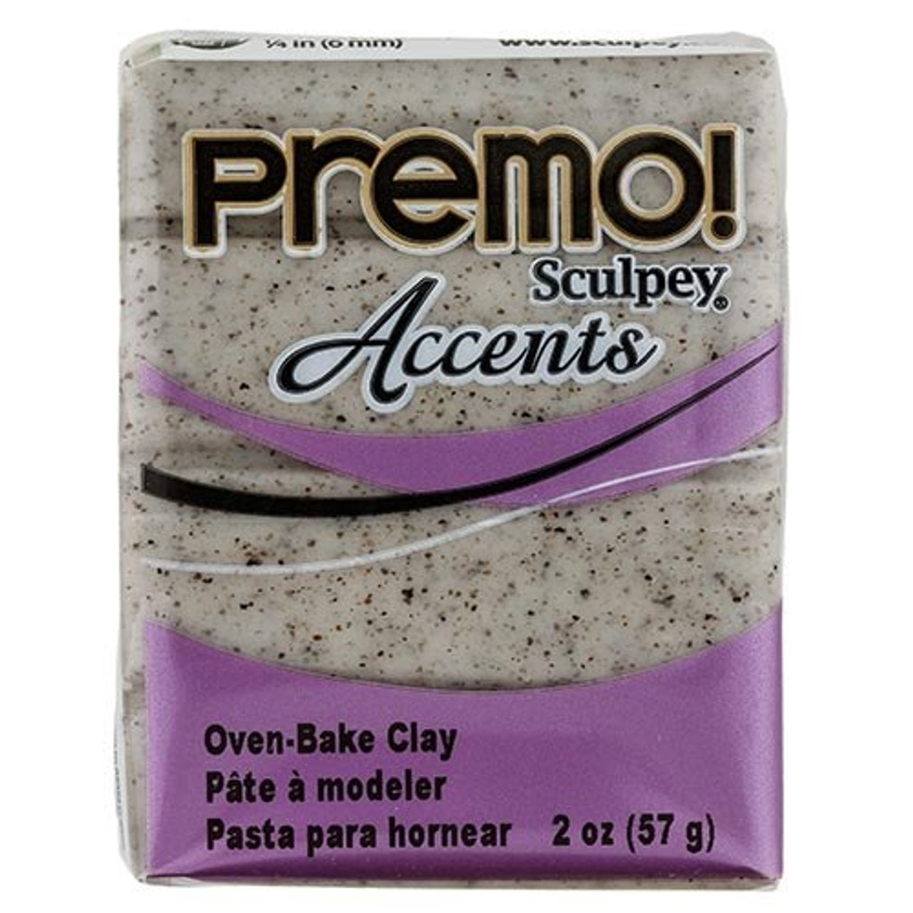 Premo! Sculpey® Accents - Gray Granite