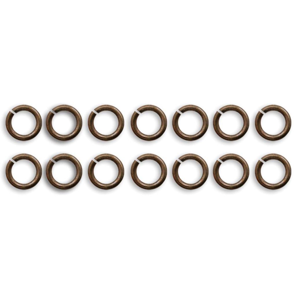 Vintaj Metal Jump Rings 18/Pkg