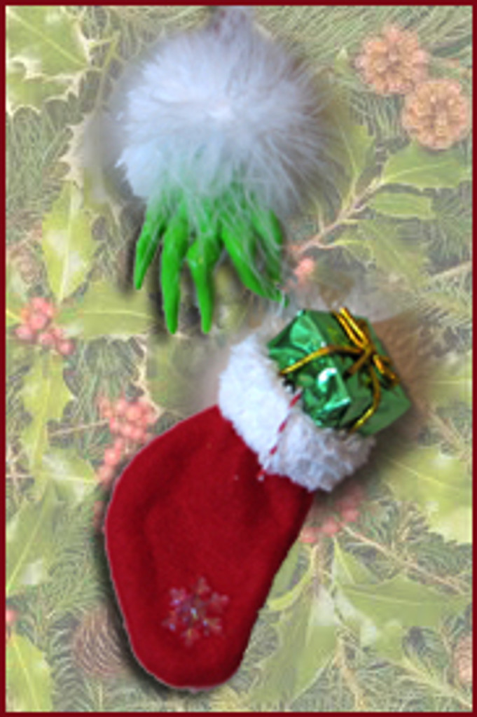 The Grinch Hands Out Stockings Tutorial