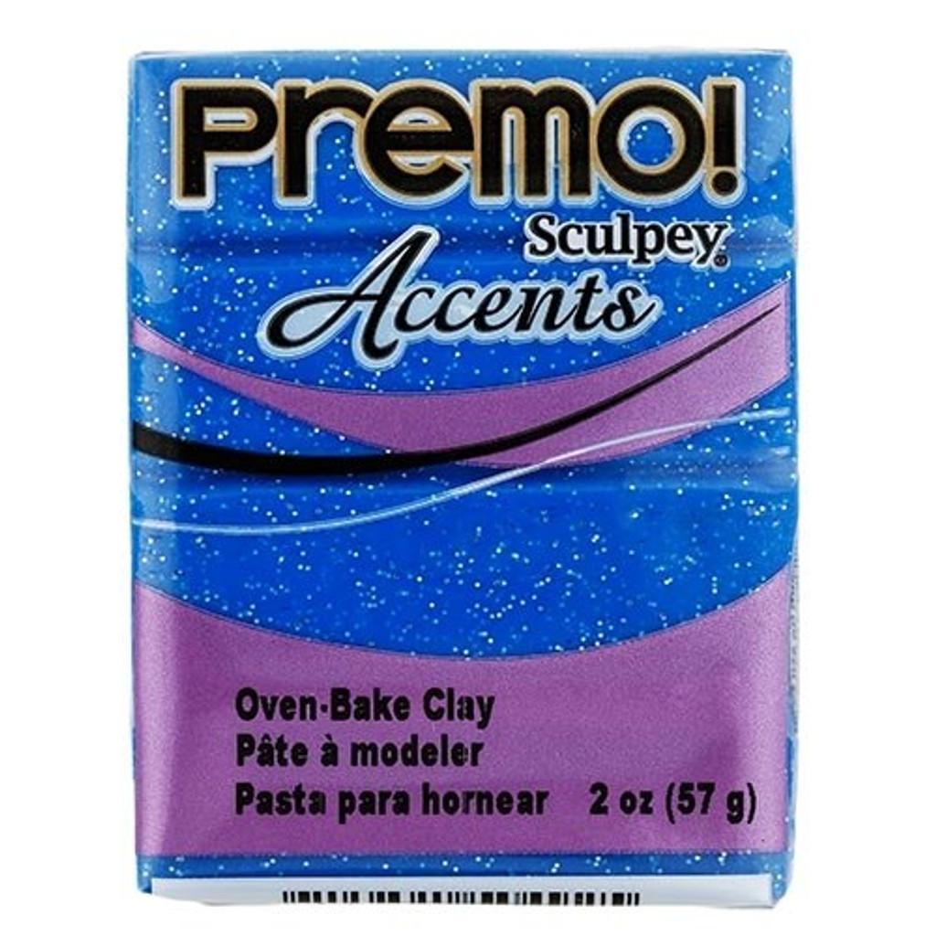Premo! Sculpey® Accents - Blue Glitter