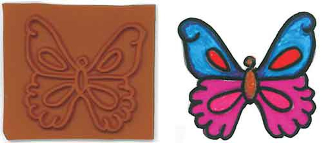 Butterfly Stamplate
