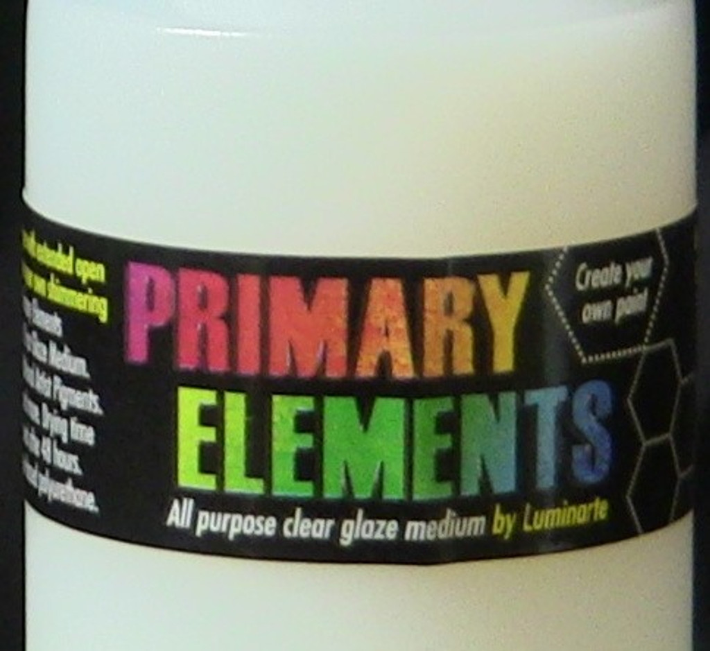Primary Elements Clear Glaze Medium