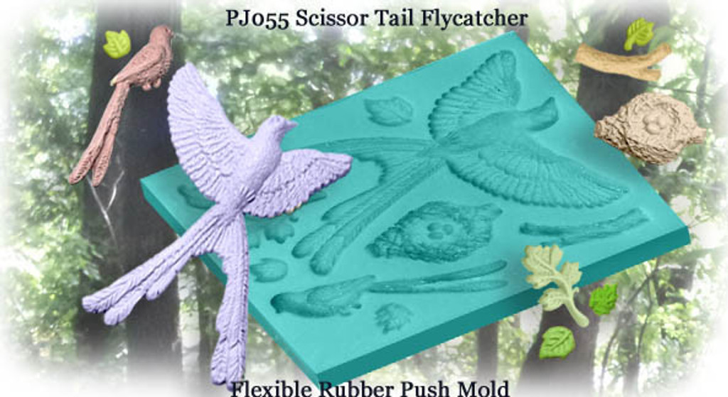 Scissor Tail Flycatcher Mold