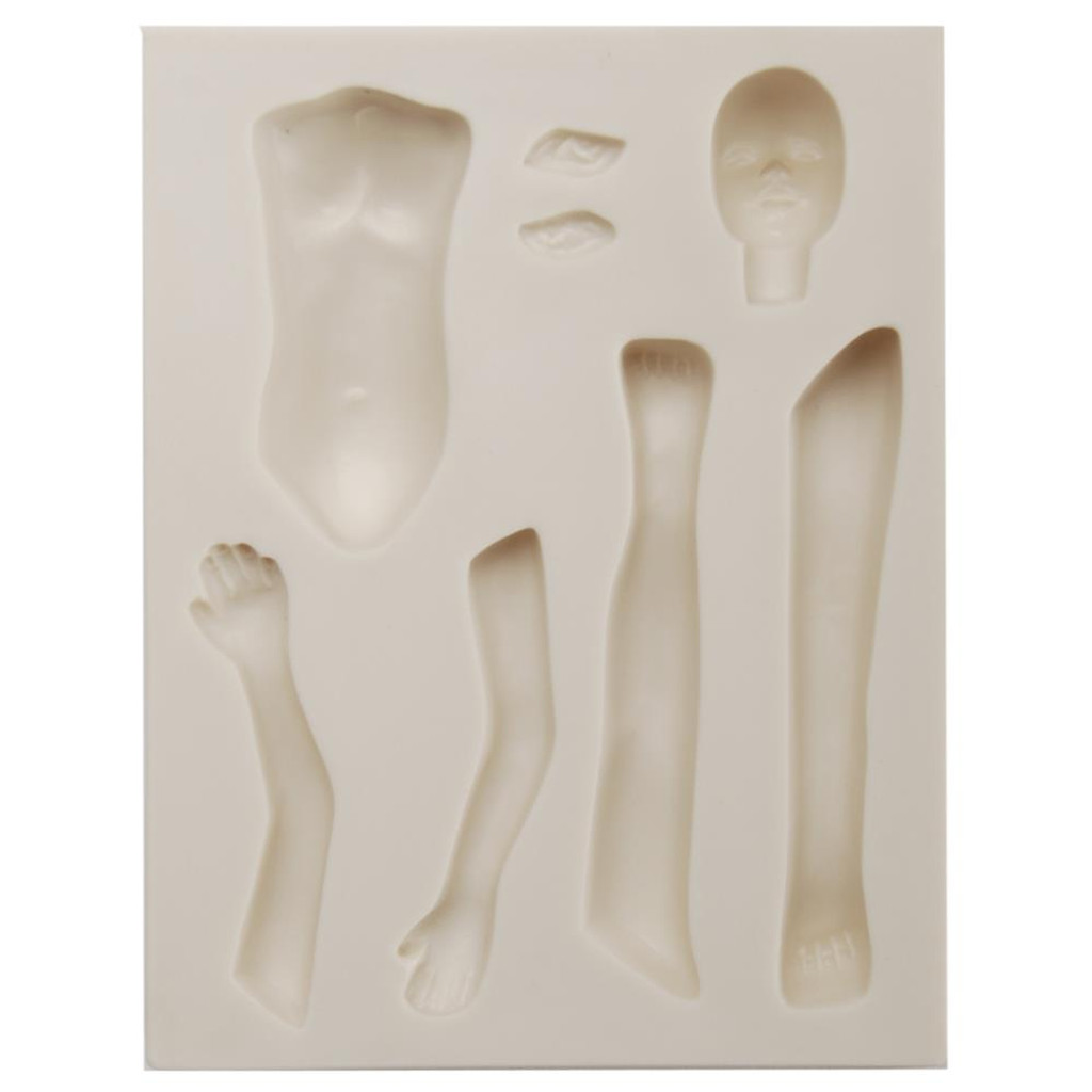 Sculpey Mold Doll Maker Fairy