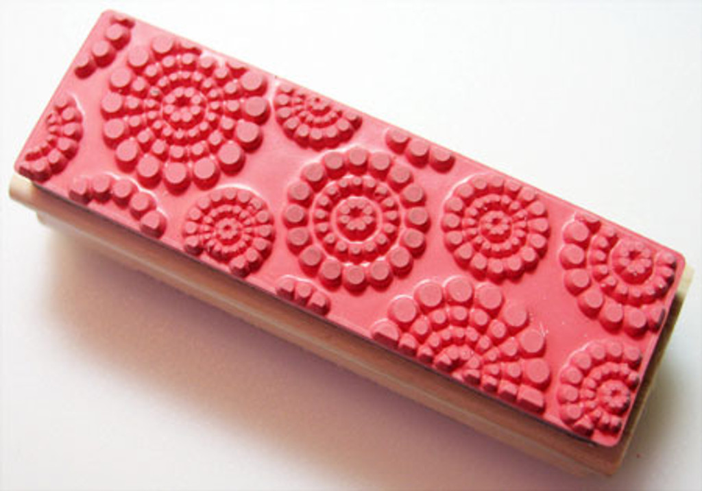 Dots Rubber Stamp