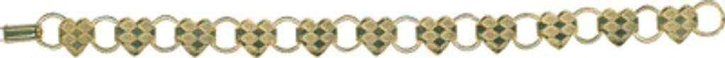Gold Heart Bracelet - LP