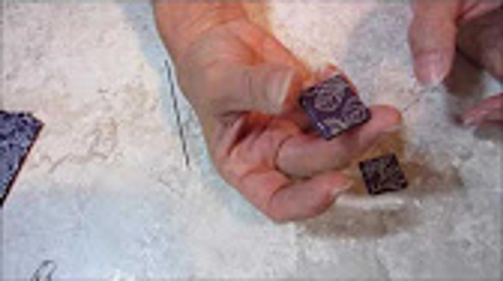 Silkscreened Mobius Beads Video