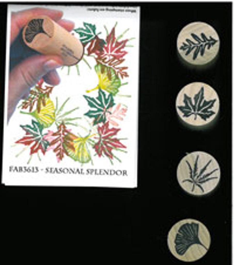 Rubber Stamps Seasonal Splendor Set