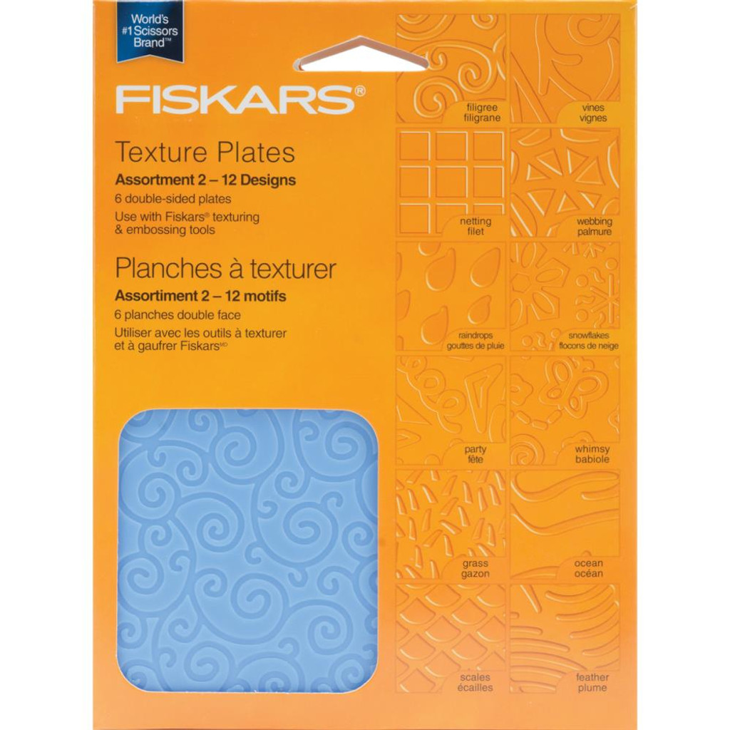 Texture Plates Double Sided
