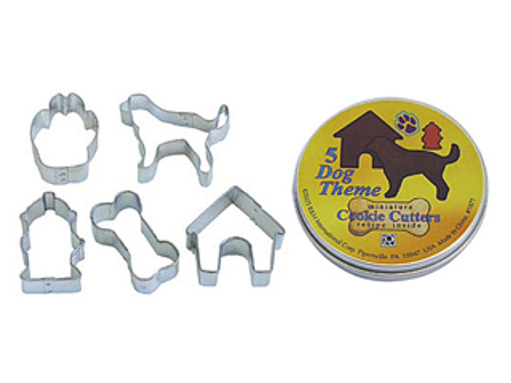 Cutters Dog Theme Tin Set