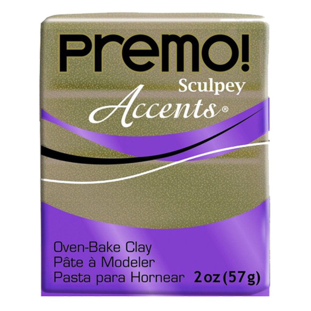 Premo! Sculpey® Accents - Yellow Gold Glitter