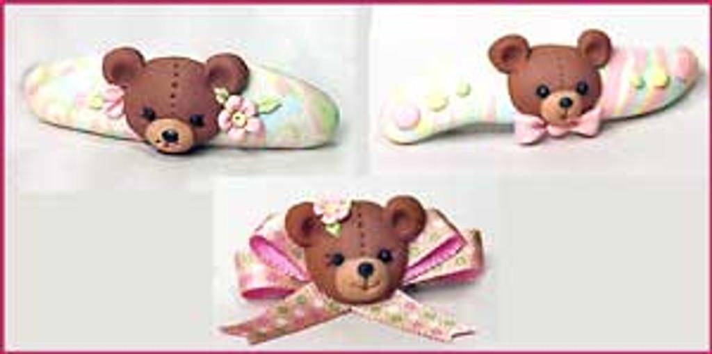 Penni Jo Originals Teddy Bear Barrette Tutorial