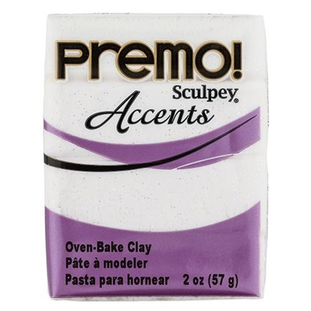 Premo! Sculpey® Accents - Frost White Glitter