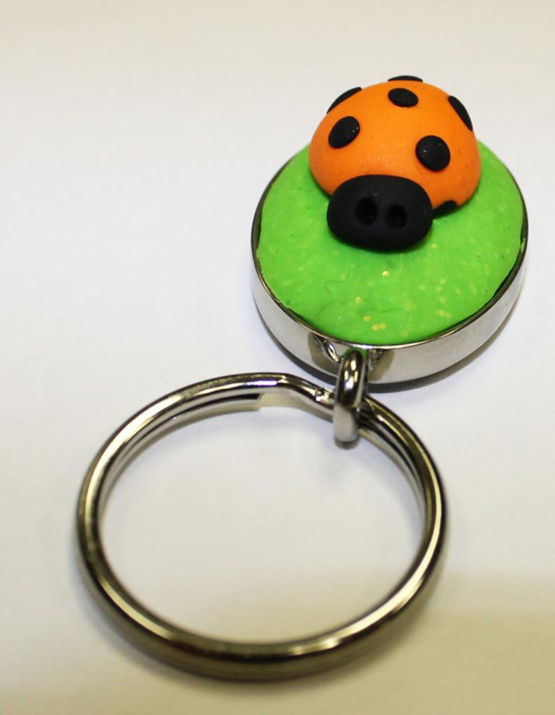 Ladybug Back Pack Charm Tutorial