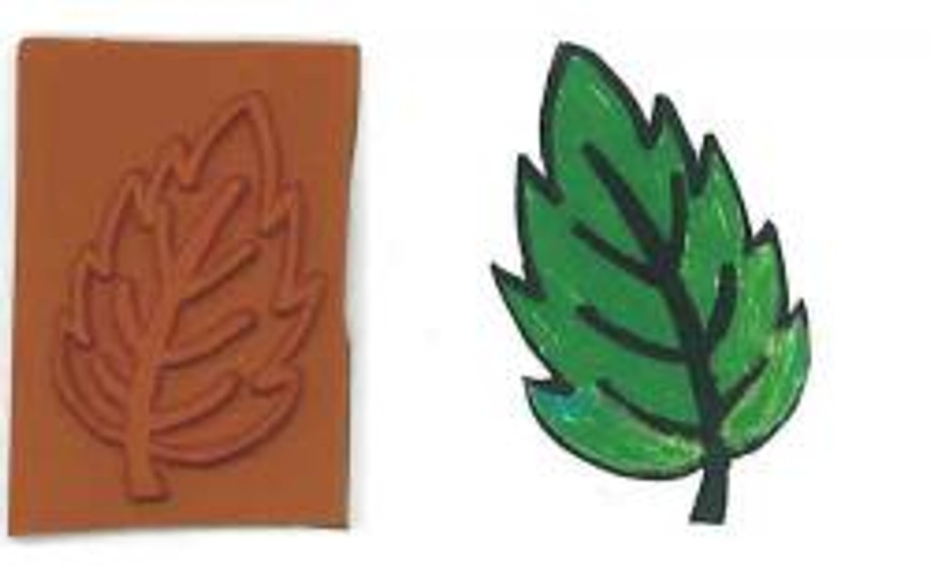 Small Hosta Leaf Stamplate