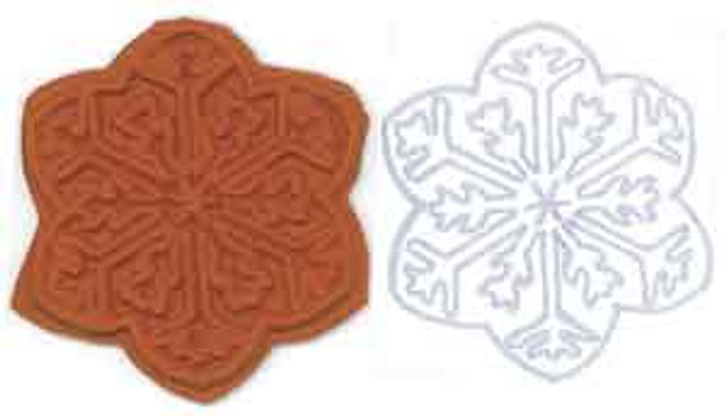 Snowflake Stamplate