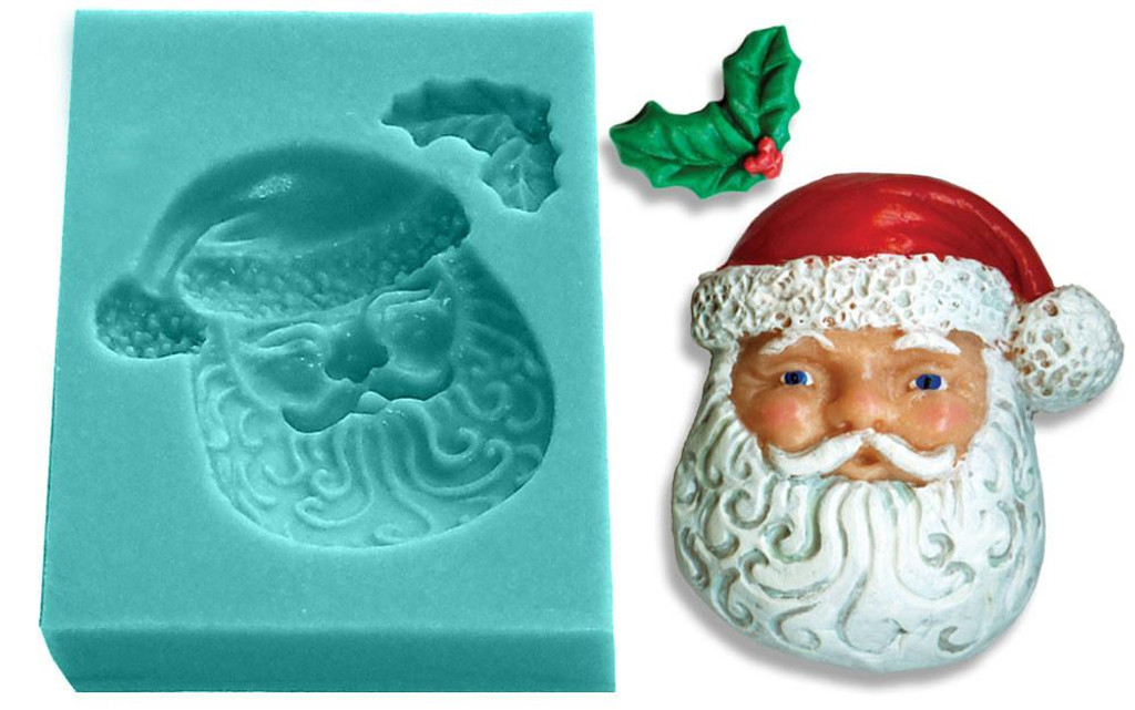 Mini Mold - Santa Face