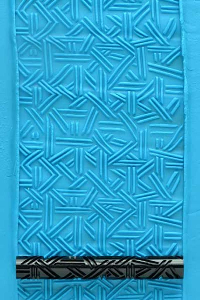 Crazy Wicker Weave Roller 7.5 cm