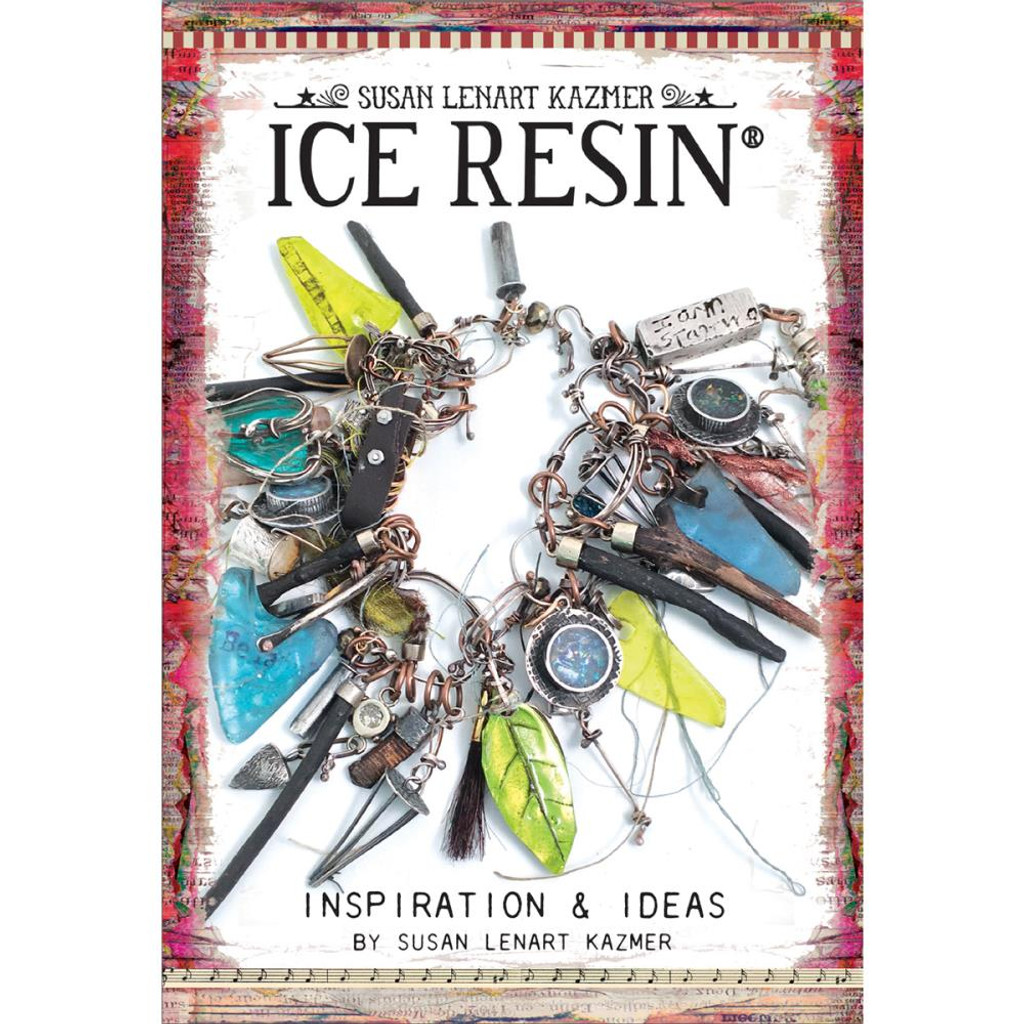 Ice Resin Mixed Media Technique Book