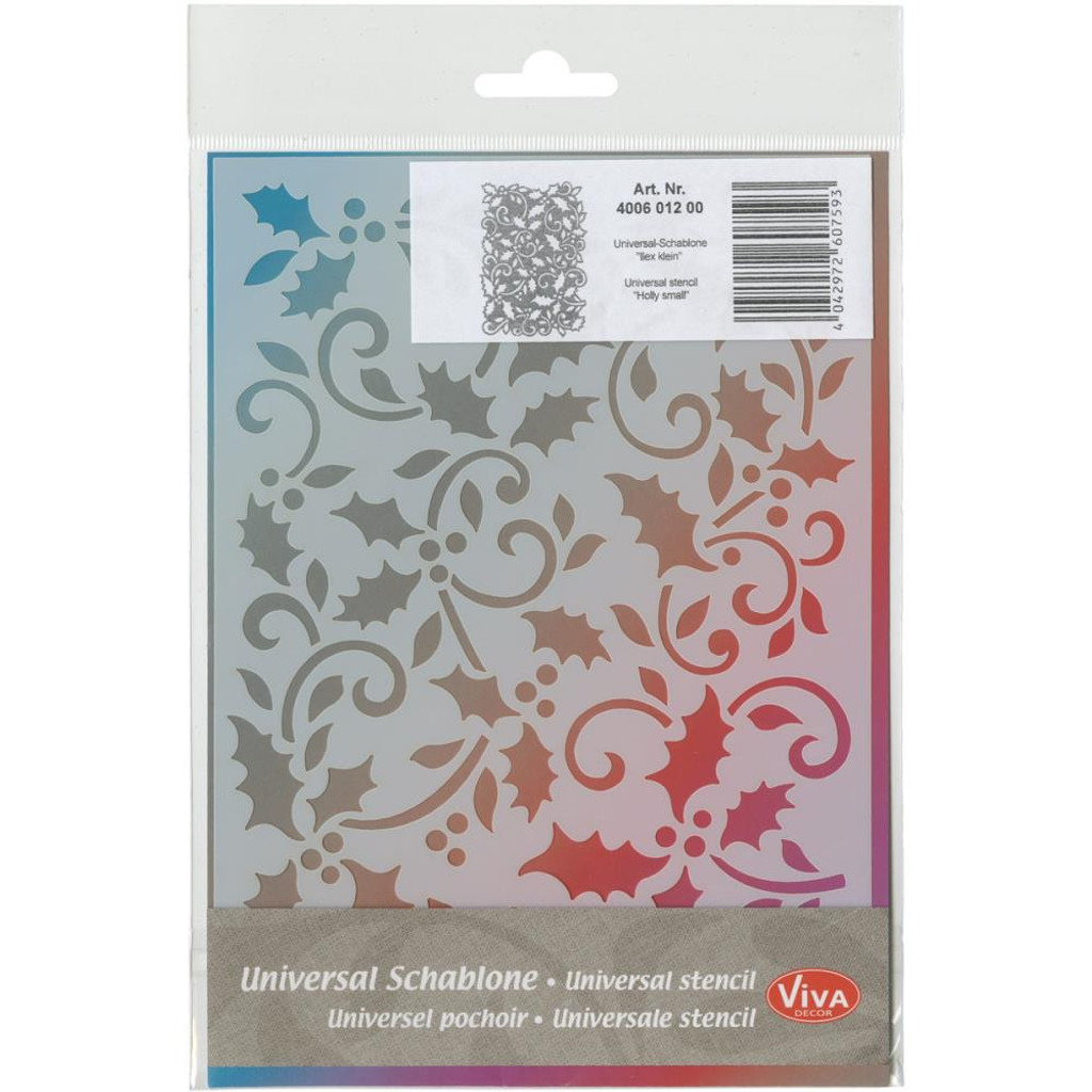 Holly Small Viva Decor 5 x 7 Stencil