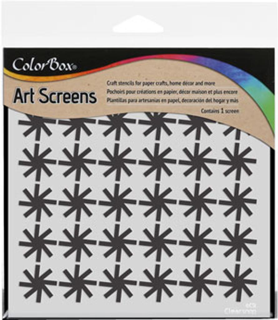 ColorBox Stencil Art Screens Pinwheel