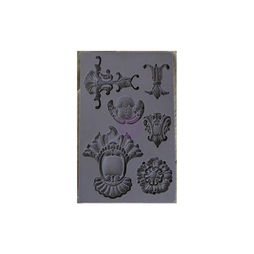 Baroque #2 - Iron Orchid Designs Vintage Art Decor Mould