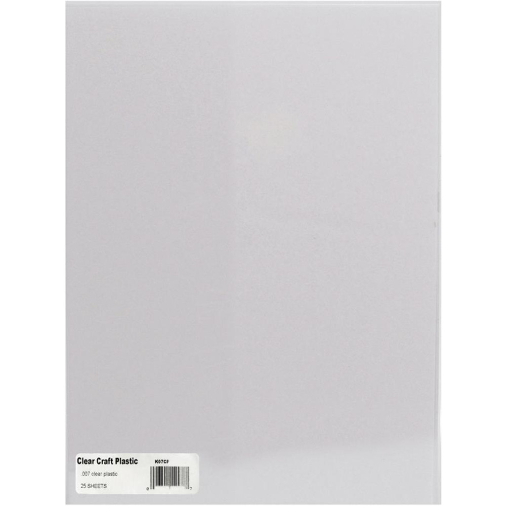 "Craft Plastic Sheets 8.5""X11"" 25/Pkg"