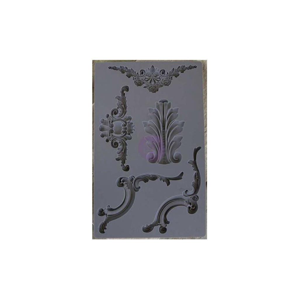 Baroque #4 - Iron Orchid Designs Vintage Art Decor Mould