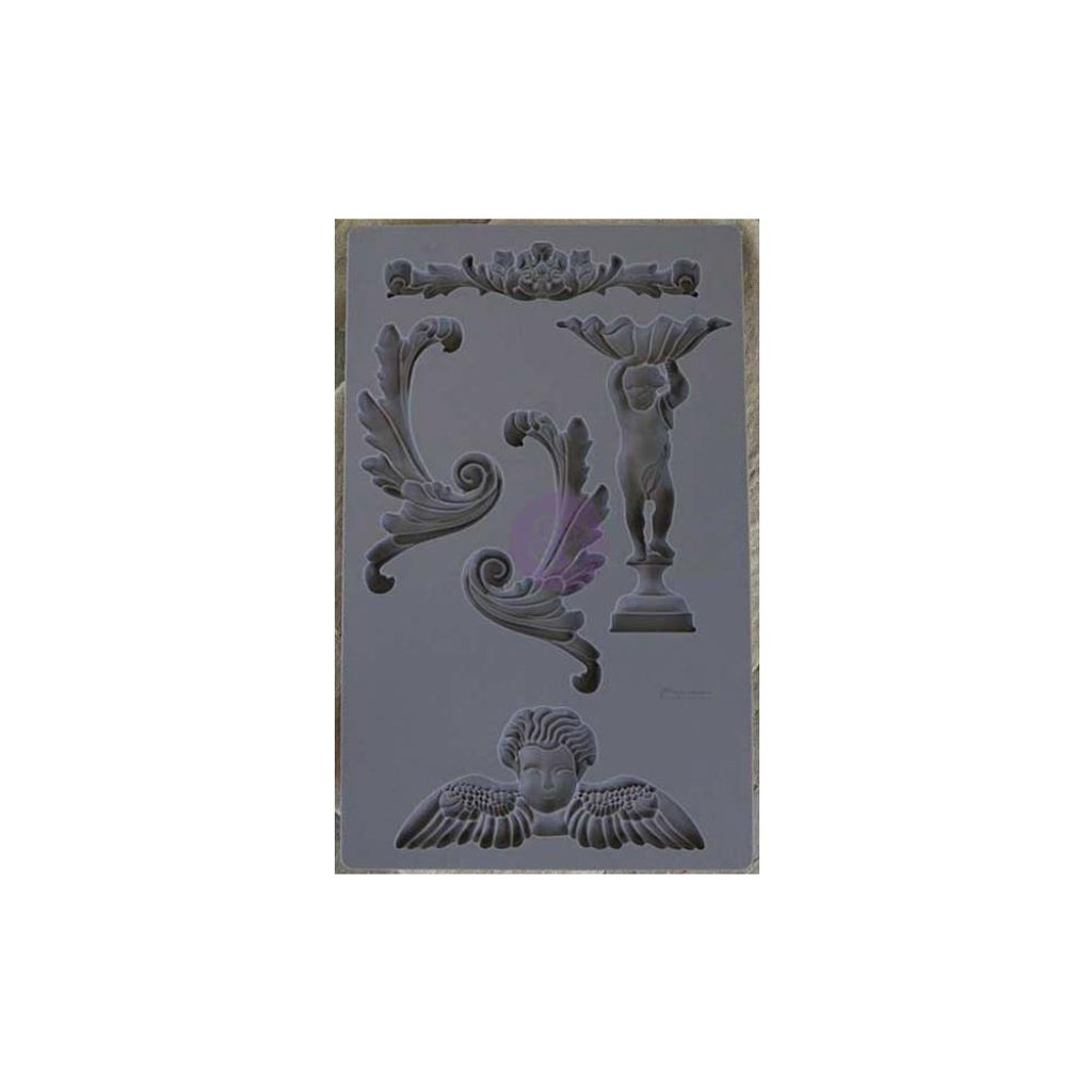 Baroque #5 - Iron Orchid Designs Vintage Art Decor Mould
