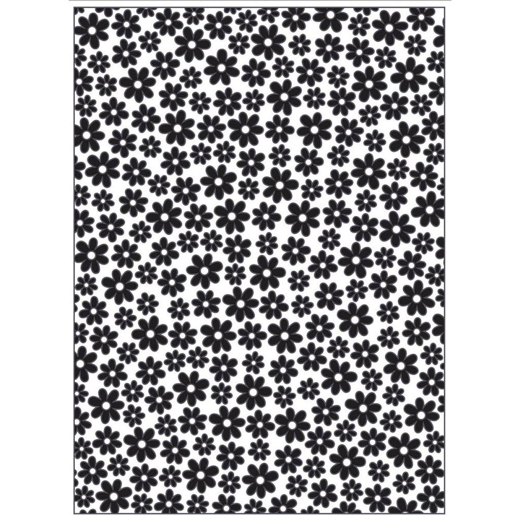 "Mini Daisy - Background Embossing Folder 4.25""X5.75"""
