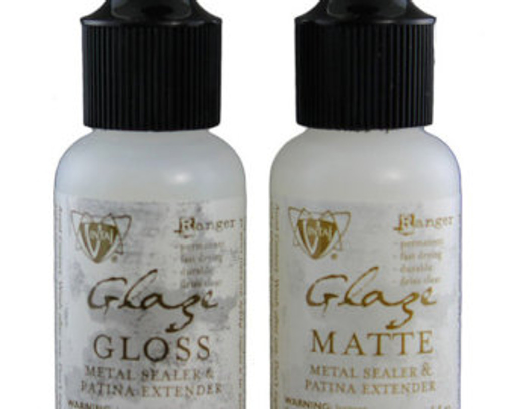 Vintaj Glaze Metal Sealer and Patina Extender 2 ounce