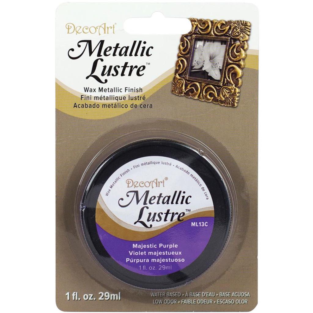 Metallic Lustre Wax Finish - Majestic Purple