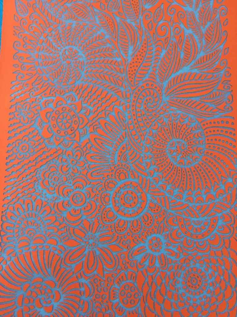 Snails in the Garden Silkscreen Stencil