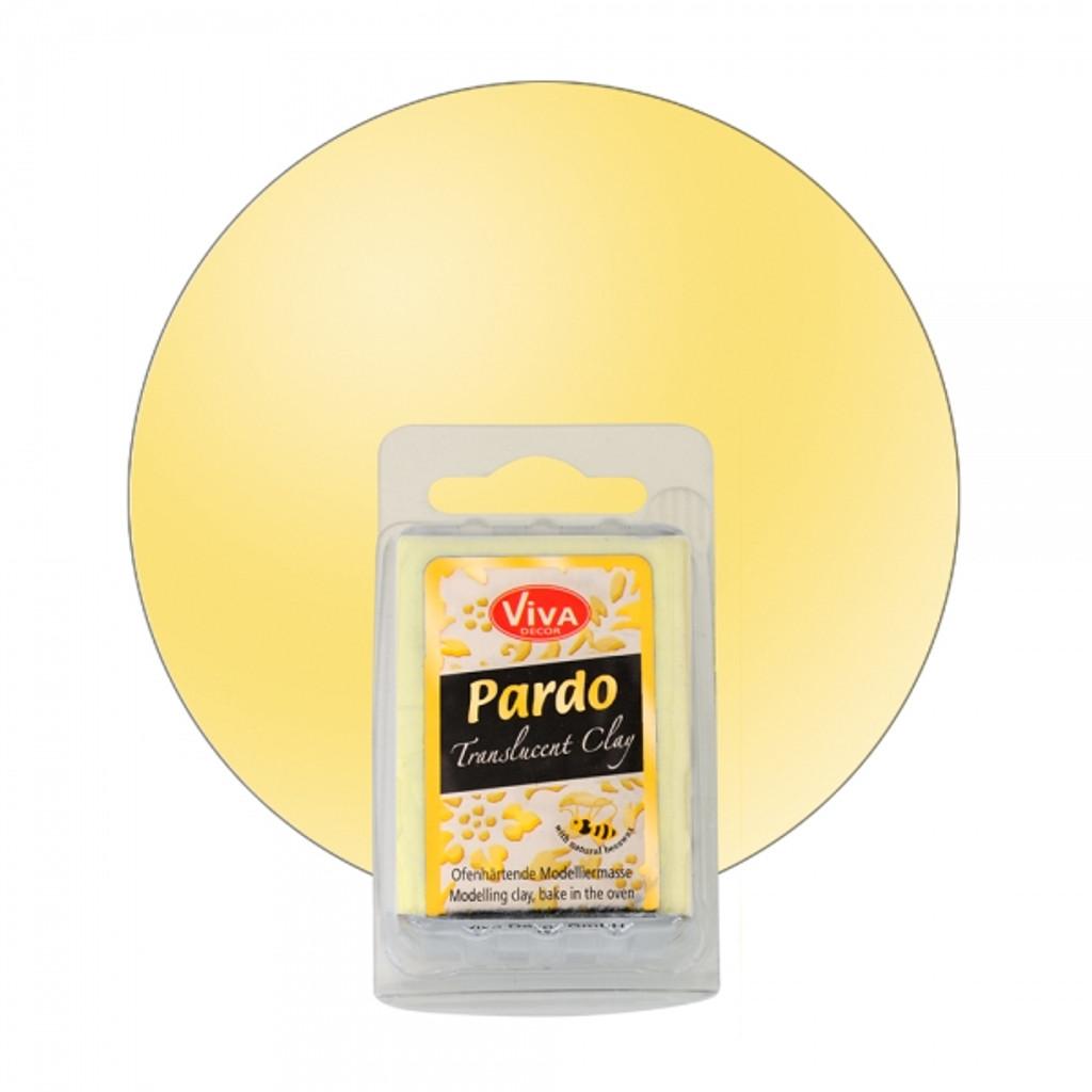 Pardo Translucent Art Clay Yellow