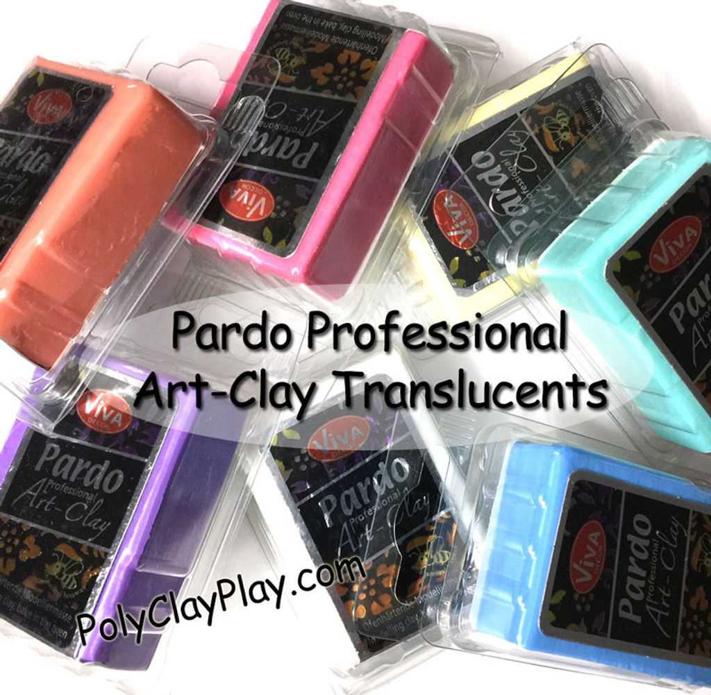Pardo Translucent Art Clay Pink