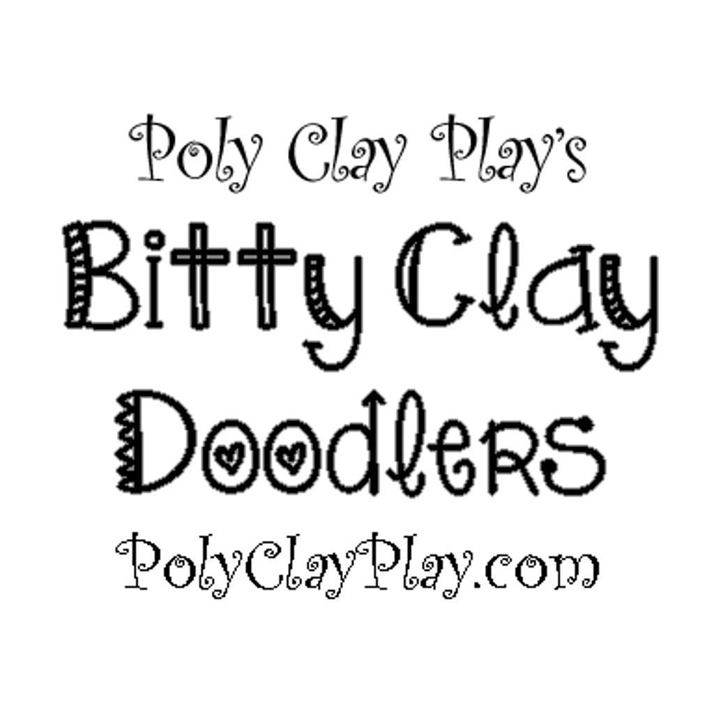 Bitty Clay Doodlers from Poly Clay Play Micro Circle Cutters