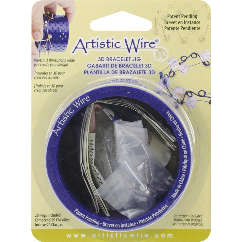Bracelet Jig 3D W/20 Pegs or Extra Pegs Set